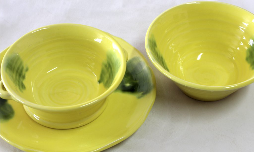 Vintage made in Spain design tableware by Torres Ferreras Ceramics La Rambla
