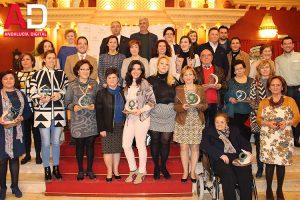 Entrega Trofeos Igualdad Campiña Sur hechos en La Rambla Cordoba Torres Ferreras